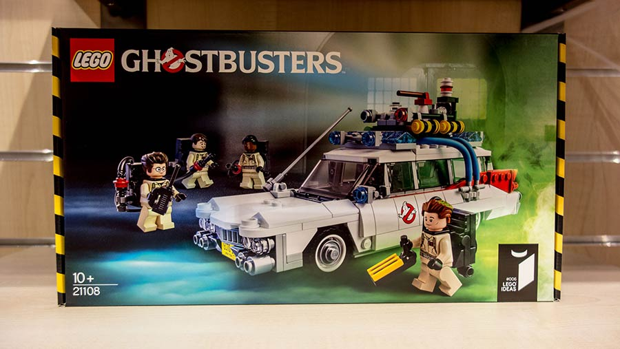 Ghostbusters Lego kits