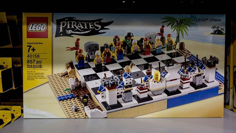 Lego Pirates Chess kit