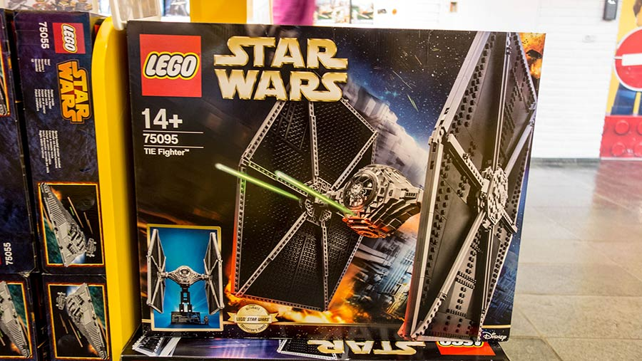 Star Wars Lego kits