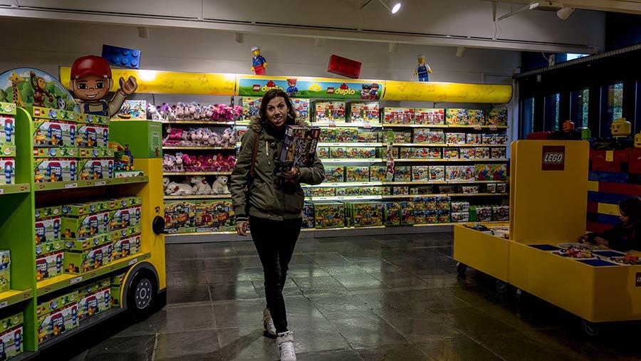 Legoland Billund Gift Shop