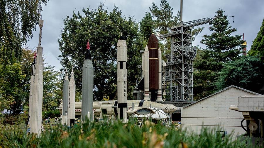 Legoland Billund NASA Space