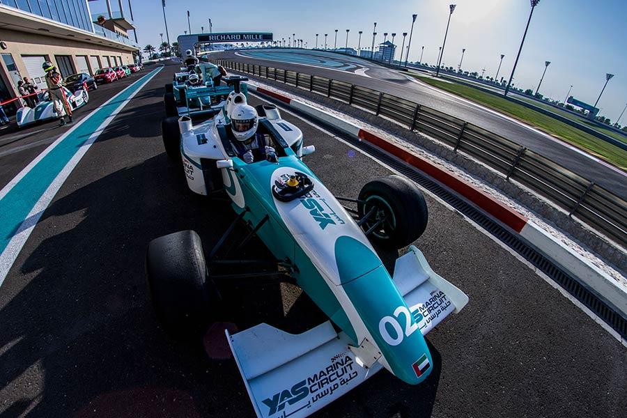 Abu Dhabi, F1 Yas Marina Circuit