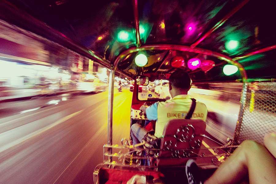 Tuk Tuk Scams Bangkok