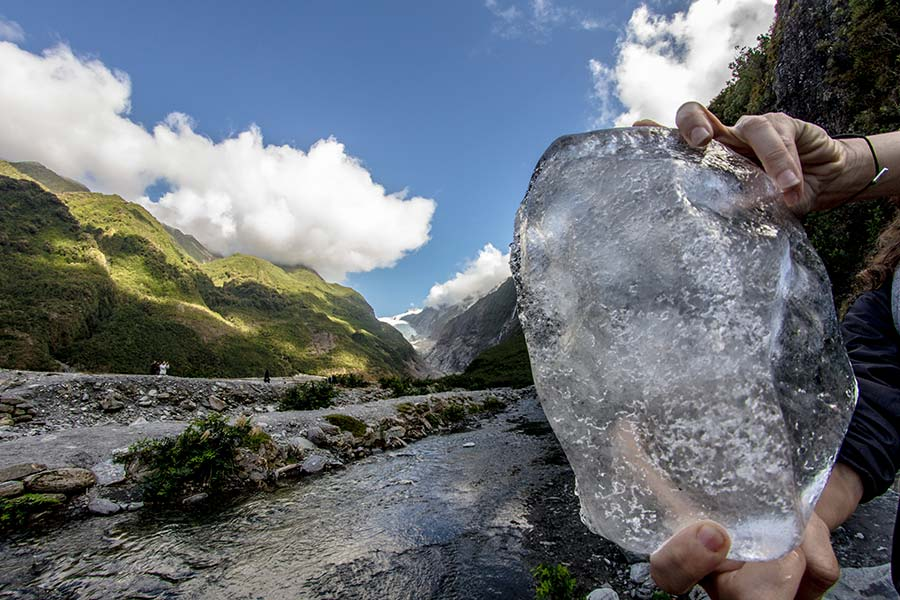 Fox Glacier - New Zealand walking tracks
