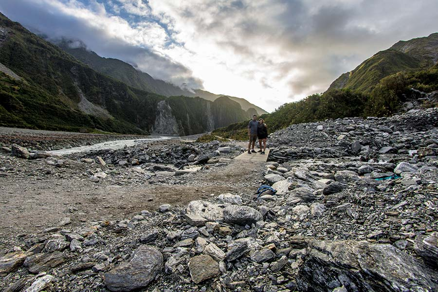 Fox Glacier - New Zealand walking tracks