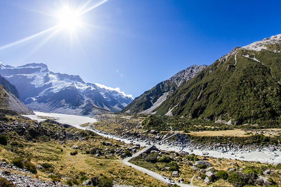 Hooker Valley Track - New Zealand walking tracks