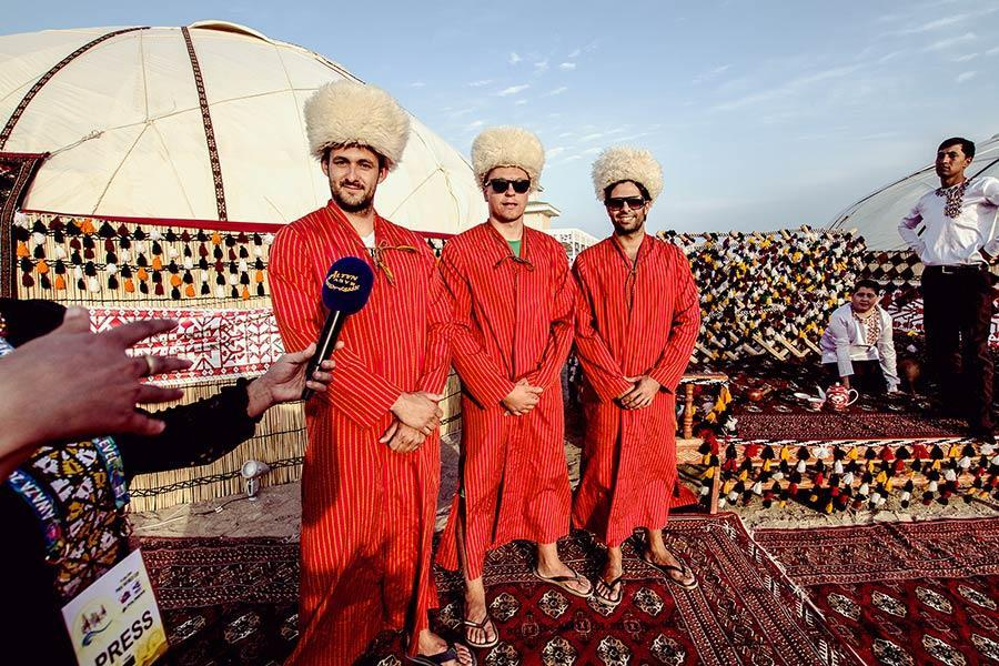 Turkmenistan & the Silk Road, an unlikely windsurfing location