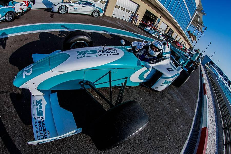 Things to do in Abu Dhabi? You Should be Racing F3000 Cars at the Yas Marina F1 Track